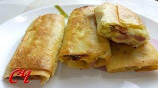 Пирожки из Лаваша с Картошкой и не Только...Быстро и Нереально Вкусно!