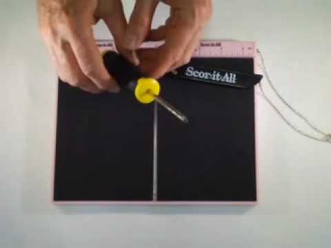 Scor-it-All / Changing the Reversible Centering Ruler