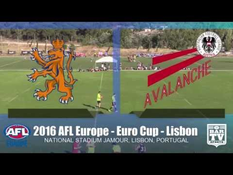 2016 AFL Europe - Euro Cup Men's Bowl Final - Netherlands v Austria