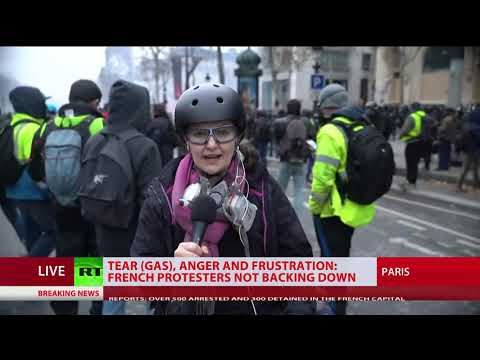 UPD: 700 detained during 'Yellow Vests' protests across France – Interior Ministry
