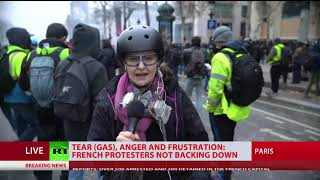 UPD: 700 detained during Yellow Vests protests across France – Interior Ministry