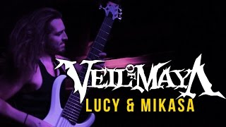 "Veil of Maya - ""Lucy"" & ""Mikasa""  LIVE! The Matriarch Tour"