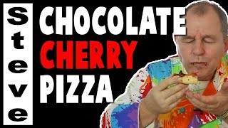 CHOCOLATE CHERRY PIZZA - An Experiment.. Gone?