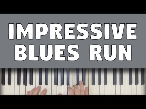 Learn This Impressive Blues Run (Easy To Play)