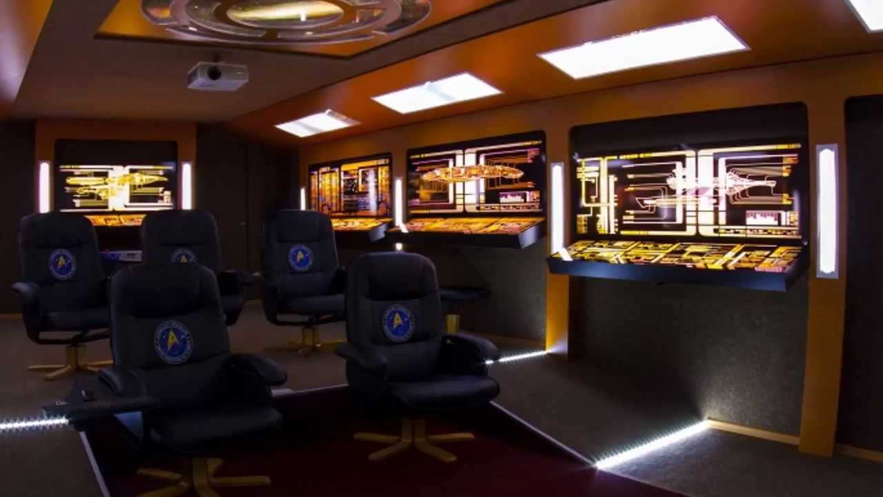 star trek home theater design. Interior Design Ideas. Home Design Ideas