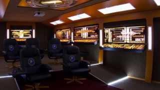 Ultimate Star Trek - Home Theater - Enterprise Bridge