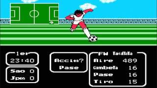 Supercampeones Vol II Super Striker Nintendo Family Sao Paulo VS Japon Tiempo 1