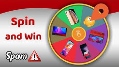 Spin and win mobile phone - big Spam ⚠️