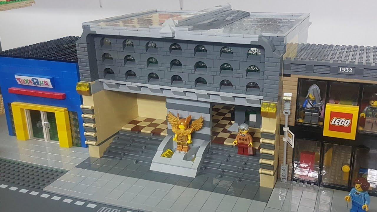 LEGO Train Station MOC