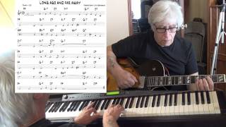 Long Ago And Far Away - Jazz guitar & piano cover ( Jerome Kern & Ira Gershwin )  Yvan Jacques