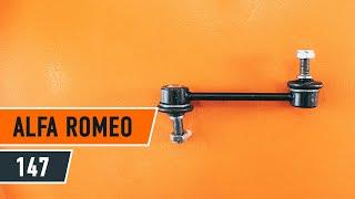 Comment changer Ampoule Feu Eclaireur De Plaque ALFA ROMEO 147 (937) - video gratuit en ligne