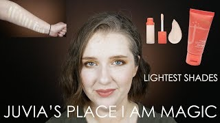 Juvia's Place I Am Magic Foundation in 740 Marisol and Concealer in J24   combo skin, late 30s