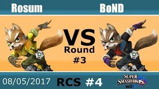 Baixar RCS #4 Smash Wii U - BoND (Fox, Marth) vs Rosum (Fox, Yoshi)