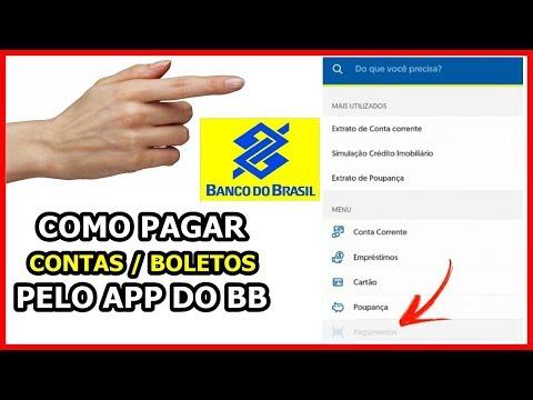 COMO PAGAR CONTAS / BOLETOS PELO APLICATIVO DO BANCO DO BRASIL - TUTORIAL 2019 / 2020