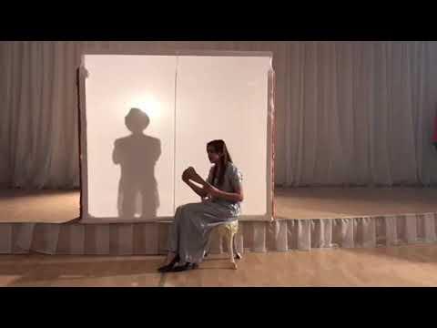 Изображение предпросмотра прочтения – ДианаАмер читает произведение «Заметался пожар голубой» С.А.Есенина
