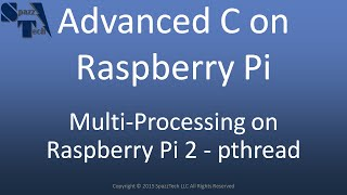 C Programming on Raspberry Pi - pthread