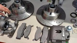 MOPAR 11.75 FRONT DISC KIT EXPLAINED by TheRamManINC.com