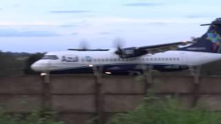 POUSO AERONAVE ATR 72 600 - PR ATW