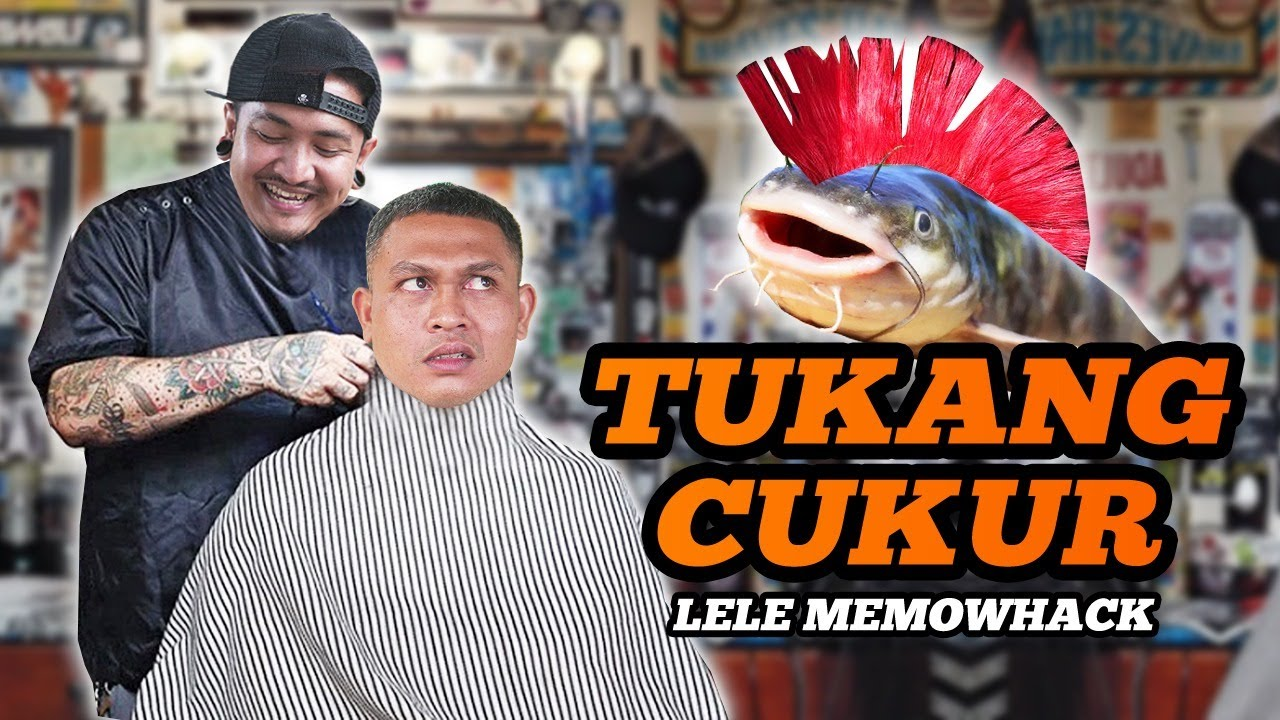 TUKANG CUKUR (Lele Mowhack) - KOMEDI ARYKAKUL BALI