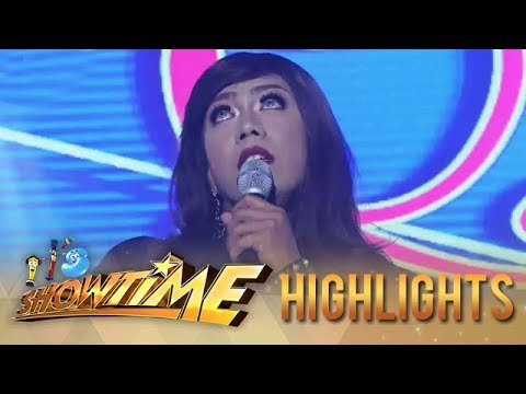 It's Showtime Miss Q & A: Reyna Dowagerl's unique talent