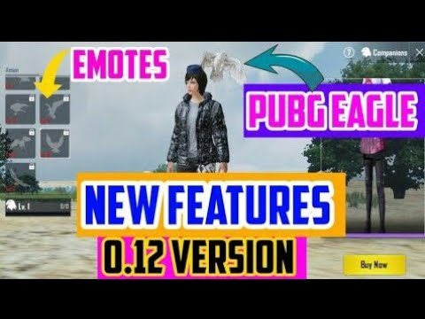 NEW UPDATE EAGLE # HOW IT'S WORK # NEW FEATURES AVAILABLE IN PUBG MOBILE  VERSION 0 12 # NEW EAGLE
