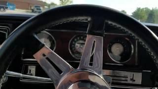 1972 Oldsmobile Cutlass test drive