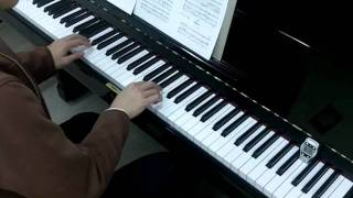 Suzuki Violin Book 1 No.14 Bach Minuet 2 Piano Accompaniment Practice 100 bpm 鈴木 鎮一