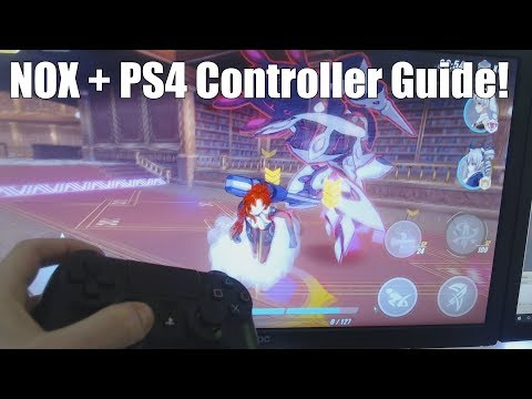 How To Play Android Games With A PS4 Controller! (Ft. Honkai Impact 3)