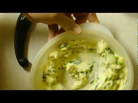 Garlic Herb and Parmesan Butter for French Bread (or even to slow cook your steak)
