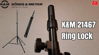 Unboxing K&M 21467 (Ring Lock) Boxen-/Lautsprecher Stativ 4K German/Deutsch