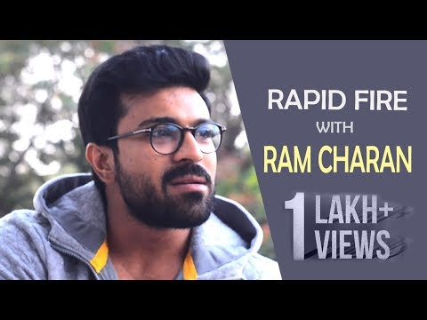 Ram Charan Rapid Show with FAN Latest Interview || Ramcharan || Mega Family