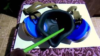 видео Респиратор Бриз-2201(РПГ-67) фильтрующий противогазовый с патроном А1 в Перми (Респираторы)