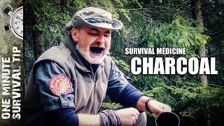 Charcoal - one minute survival tip
