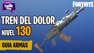 PAIN TRAIN GUIDE TO 130, BRUTAL TO CRITICS! FORTNITE SAVE THE WORLD Spanish guide