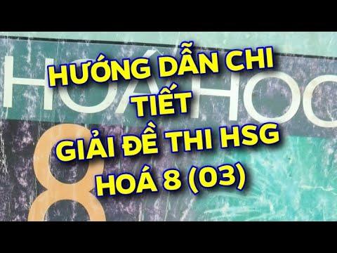 GIẢI ĐỀ THI HSG HOÁ 8 (03).