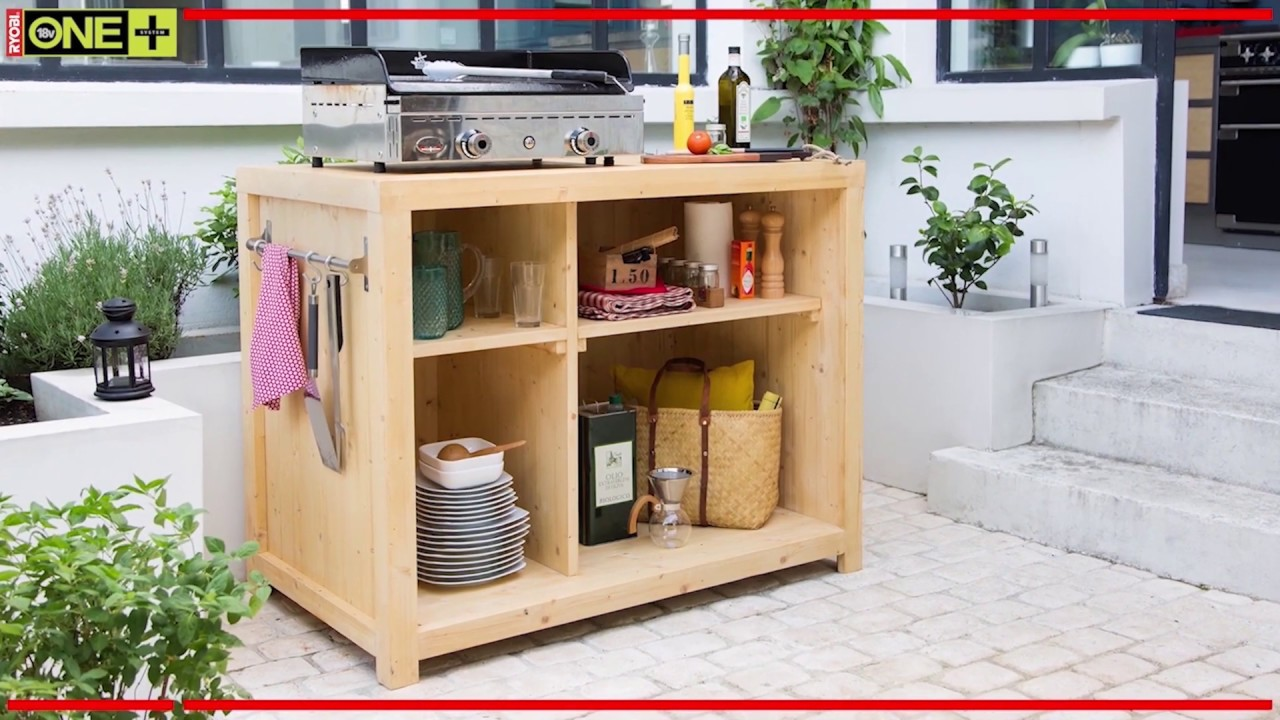 Cucine outdoor per vivere gli spazi esterni della tua casa. Bancone Da Cucina Fai Da Te Youtube
