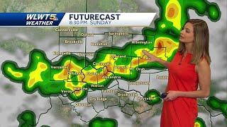 Storm threat returns Sunday
