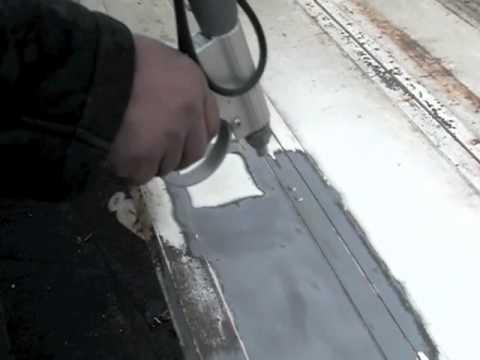 D capage volets en m tal avant mise en peinture youtube - Decaper volets bois avant peinture ...