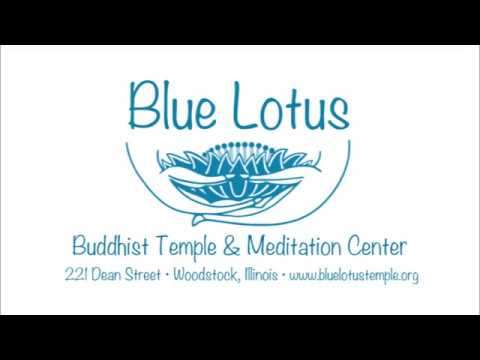 Bhante Sujatha speaks at the Blue Lotus Buddhist Temple and Meditation  Center on Oct  18, 2017