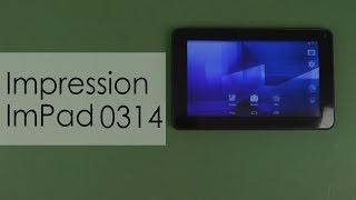 Распаковка Impression ImPAD 0314