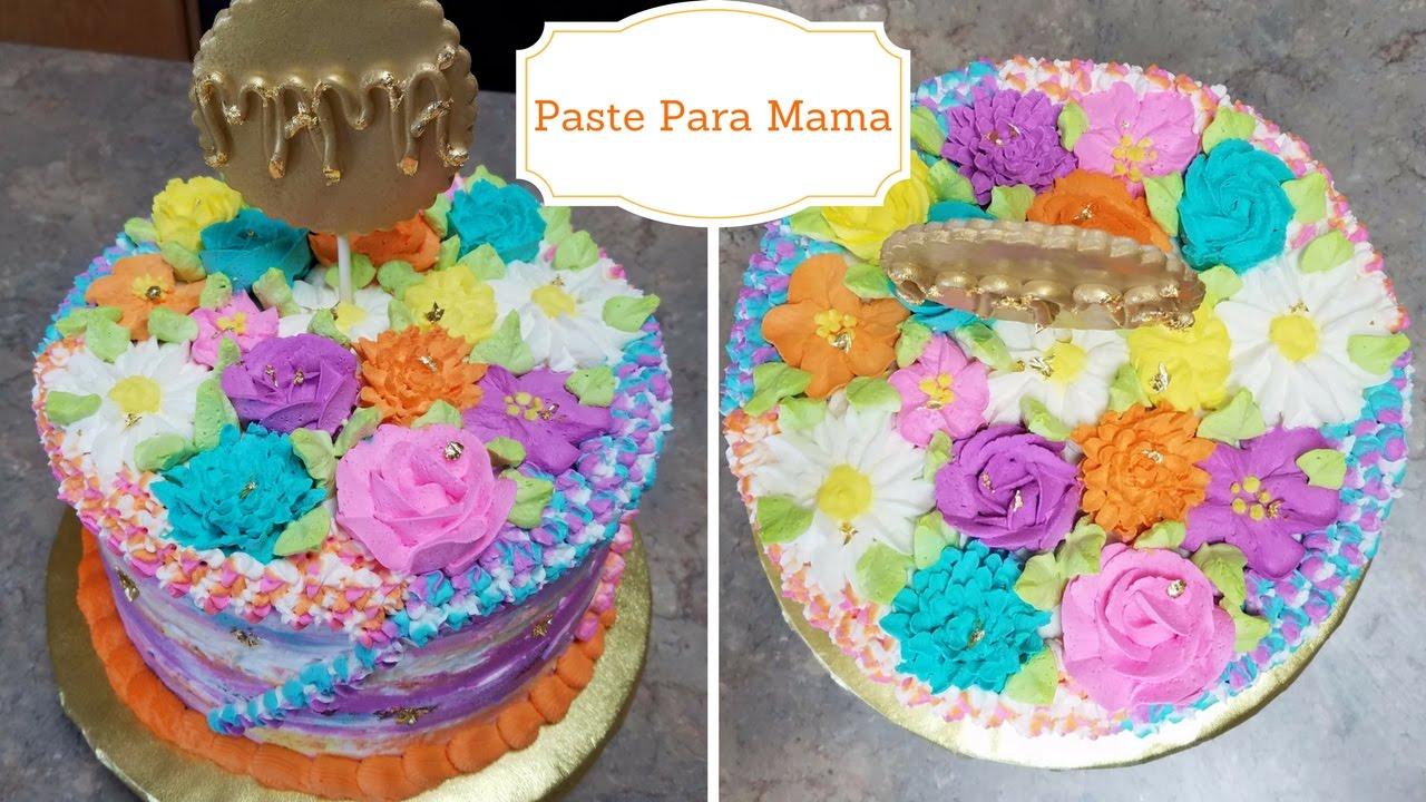Pastel para mama decoracion para el dia de las madres - Decoracion para el dia de la madre ...