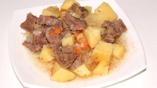 Мясо с картошкой в мультиварке редмонд, рецепт жаркого, как приготовить говядину с картошкой(В этом видео рецепте вы узнаете как приготовить мясо с картошкой или жаркое из говядины в мультиварке Редмо..., 2015-01-16T16:19:58.000Z)
