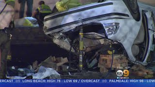 Victims Identified In Deadly Crash In Moreno Valley