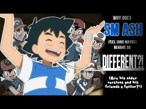 ☆Why does SM Ash feel/behave so DIFFERENT?! // Pokemon Sun & Moon Anime Discussion/Theory☆