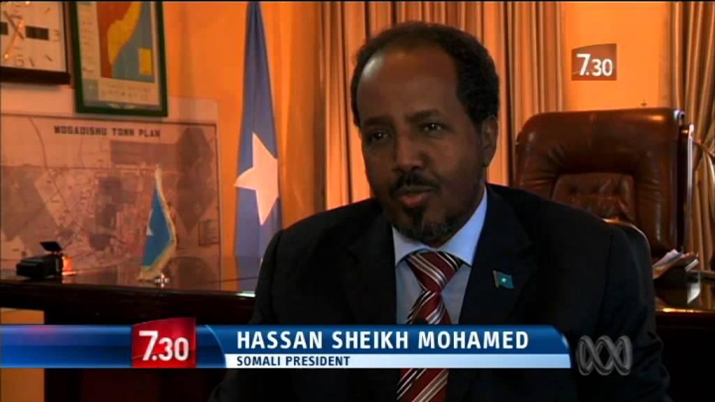 Groundbreaking Somalia President offers hope and hard work