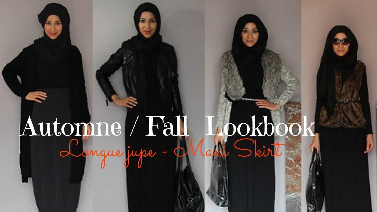 Favori Fall Lookbook | Hijab | Maxi skirt | - YouTube XO39