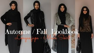 Fall Lookbook | Hijab | Maxi skirt | Thumbnail