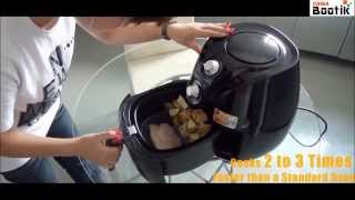 Air Fryer 800g Capacity, No Oil Required, Healthy