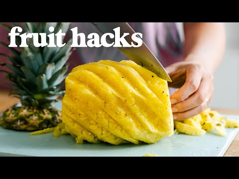 How To CUT FRUIT - 5 Clever Fruit Hacks That Will CHANGE YOUR LIFE