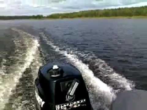 лодка marlin mp 360 мотор 9.8 видео
